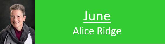 Alice Ridge - NSQG programs speaker