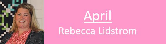 Rebecca Lidstrom - NSQG program speaker
